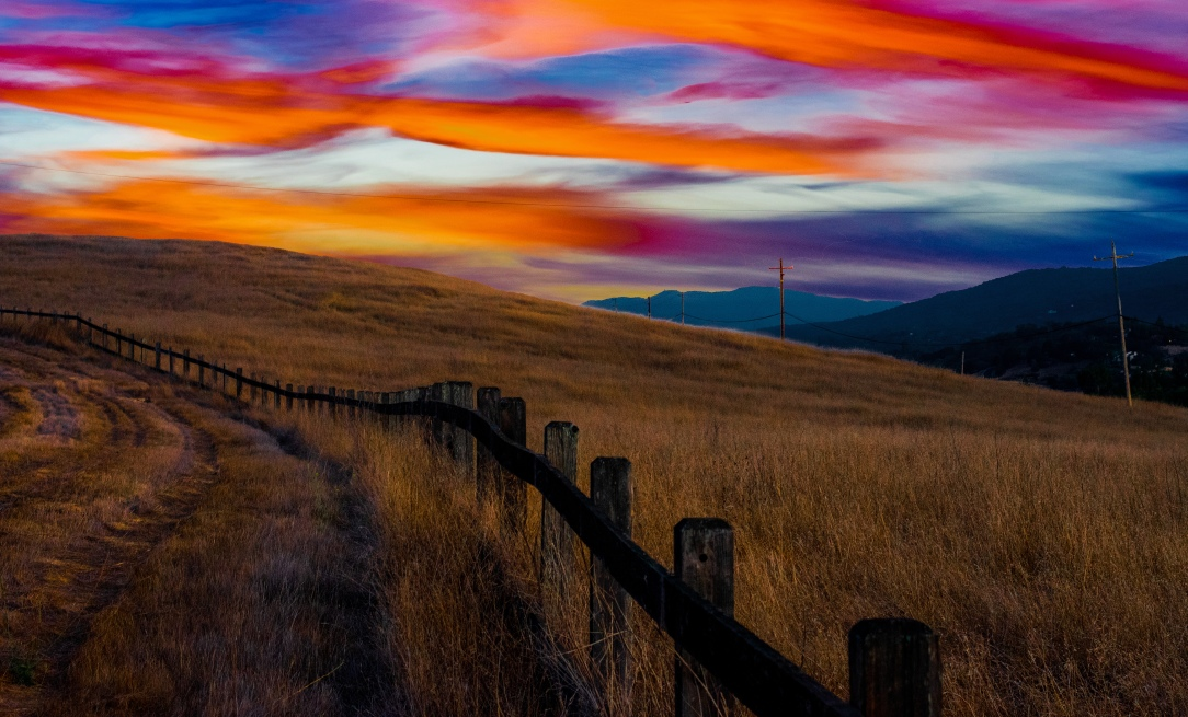 Sunset over Fence-2.jpg